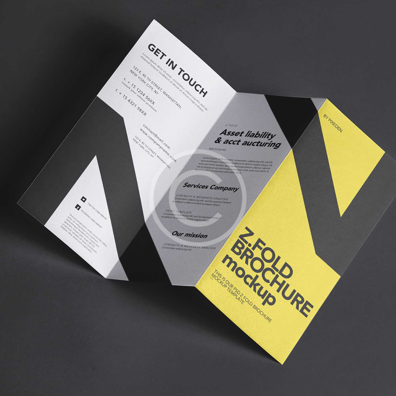 Cool brochure mockup
