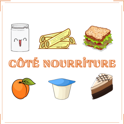 Côté nourriture